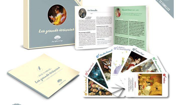 Nouveau jeu Les grands Écrivains par Sylvie de Soye